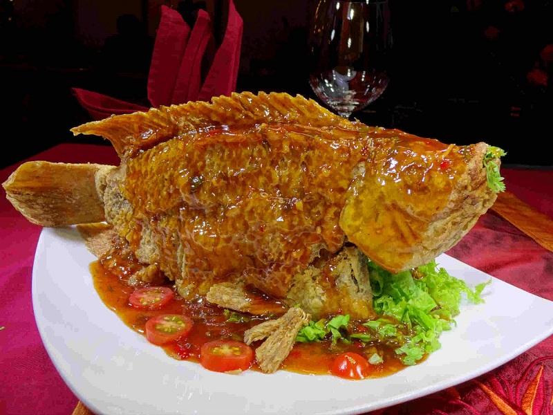 Kết quả hình ảnh cho các món chế biến cá mú đỏ