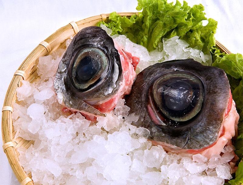 Lẩu mắt cá ngừ đại dương